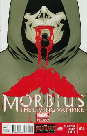 Morbius The Living Vampire Vol 2 #4