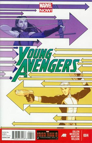 Young Avengers Vol 2 #4 Cover A Regular Jamie McKelvie Cover