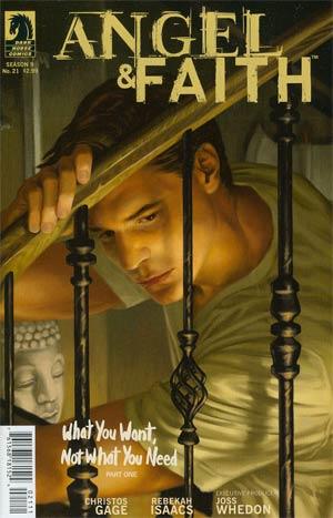 Angel And Faith #21 Regular Steve Morris Cover