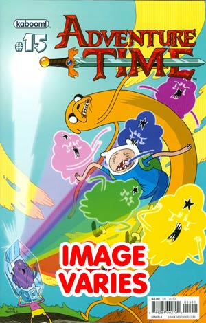 DO NOT USE Adventure Time #15 Regular Cover (Filled Randomly With 1 Of 2 Covers)