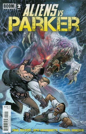 Aliens vs Parker #2 Regular Jeff Stokely Cover