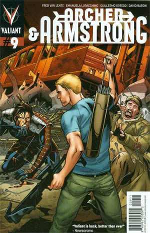 Archer & Armstrong Vol 2 #9 Regular Emanuela Lupacchino Cover