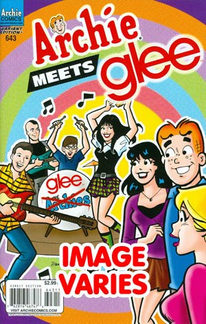 Archie #643 Archie Meets Glee Part 3 (Filled Randomly With 1 Of 2 Covers)