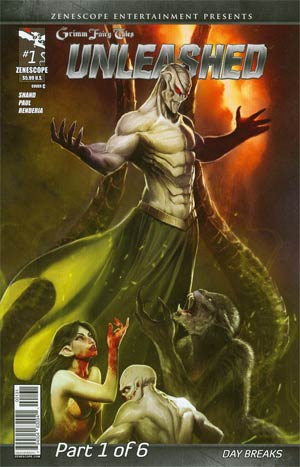 Grimm Fairy Tales Presents Unleashed #1 Cover C Stjepan Sejic (Unleashed Part 1)