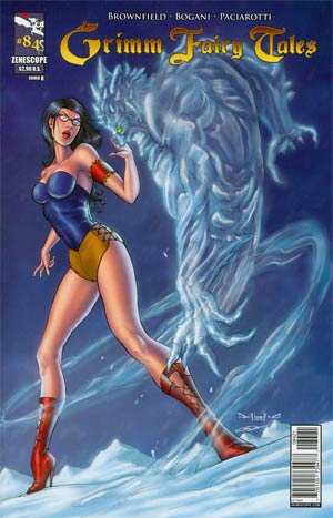 Grimm Fairy Tales #84 Cover B Pasquale Qualano