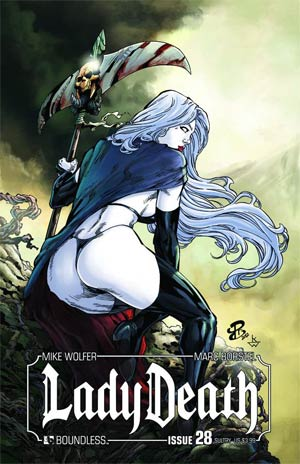 Lady Death Vol 3 #28 Sultry Cover