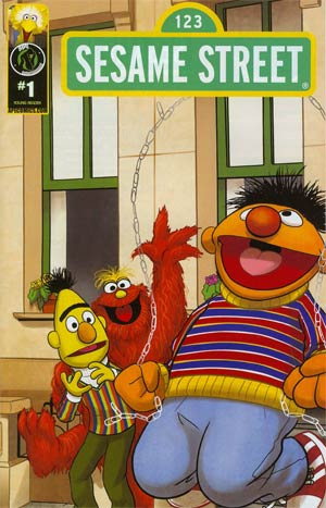 Sesame Street #1 Imagination Cover D