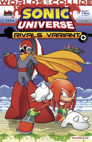 Sonic Universe #51 Variant Rivals Cover (Worlds Collide Part 2)