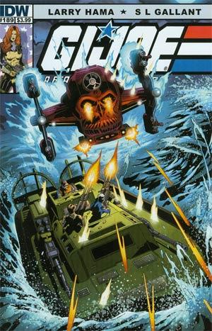 GI Joe A Real American Hero #189 Regular SL Gallant Cover