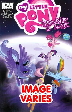 DO NOT USE (DUPLICATE LISTING) My Little Pony Friendship Is Magic #6 Regular Cover (Filled Randomly With 1 Of 2 Covers)