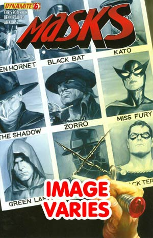 Masks #6 Regular Cover (Filled Randomly With 1 Of 4 Covers)
