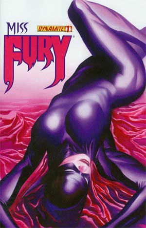 Miss Fury Vol 2 #1 Variant Alex Ross Subscription Cover
