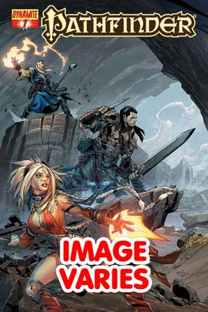 DO NOT USE (DUPLICATE LISTING) Pathfinder #7 Regular Cover (Filled Randomly With 1 Of 2 Covers)