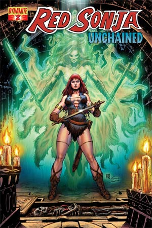 Red Sonja Unchained #2 Variant Walter Geovani Subscription Cover
