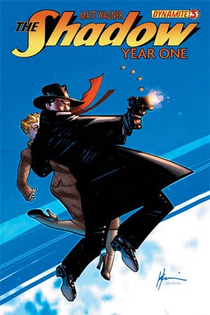 Shadow Year One #3 Cover D Howard Chaykin