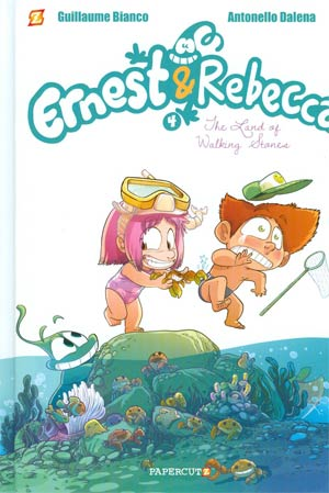 Ernest & Rebecca Vol 4 Land Of Walking Stones HC