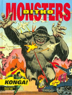Ditko Monsters Vol 2 Konga HC