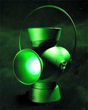 Green Lantern 1/1 Scale Power Battery And Ring Prop Replica