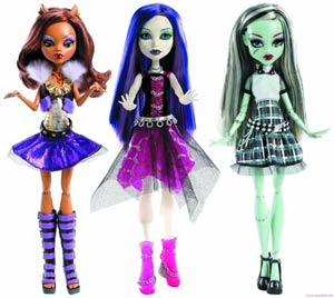 DO NOT USE (DNO) Monster High Ghouls Alive Doll Assortment Case