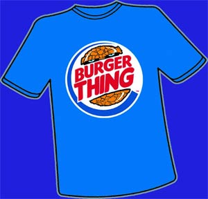 Burger Thing T-Shirt Large