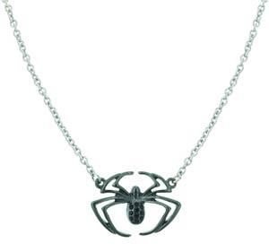 Spider-Man Silver Tone Spider Necklace