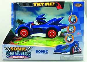 Sonic & Sega All-Stars Racing Sonic Battery-Operated Car