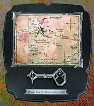 Hobbit Thorins Key & 8x8 Map