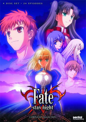 Fate/stay night TV Complete Collection DVD