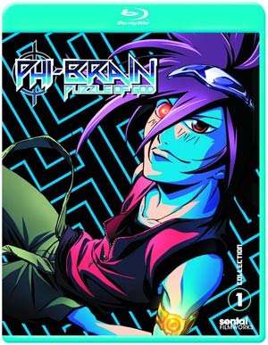 Phi-Brain Season 1 Collection 1 Blu-ray DVD