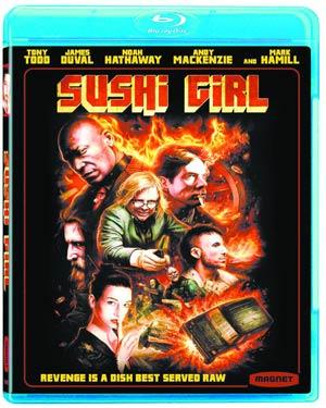 Sushi Girl Blu-ray DVD