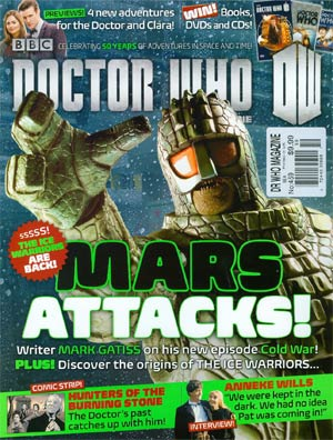 Doctor Who Magazine #459 May 2013