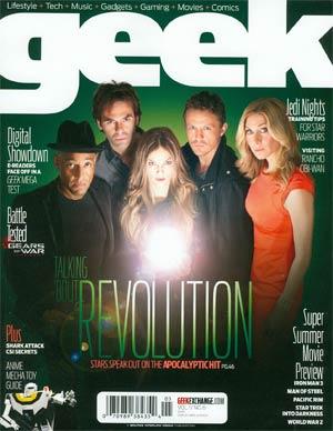 Geek Vol 1 #6 May 2013