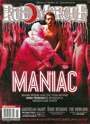 Rue Morgue Magazine #134 Jun 2013