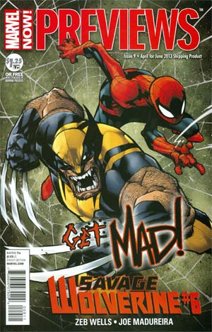 Marvel Previews Vol 2 #9 April 2013