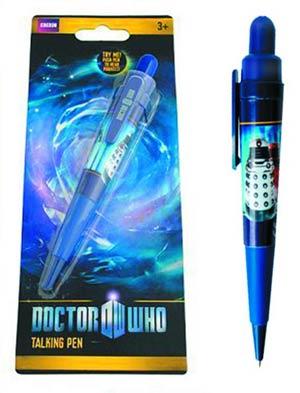 Doctor Who Dalek & Cyberman Talking Pen Set