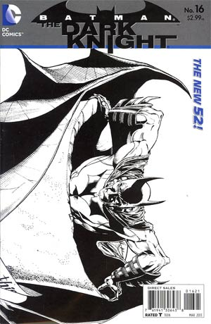 Batman The Dark Knight Vol 2 #16 Incentive Ethan Van Sciver Sketch Cover