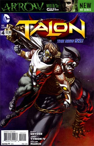 Talon #4 Incentive Mike Choi Variant Cover