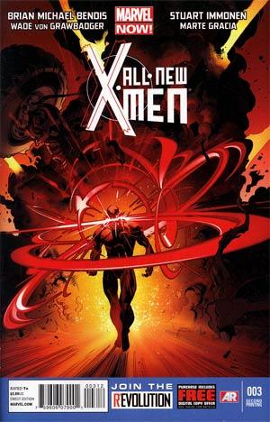All-New X-Men #3 2nd Ptg Stuart Immonen Variant Cover
