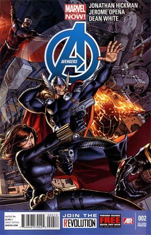 Avengers Vol 5 #2 2nd Ptg Dustin Weaver Variant Cover
