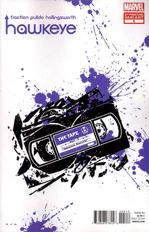 Hawkeye Vol 4 #5 2nd Ptg David Aja Variant Cover
