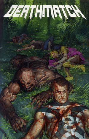 Deathmatch #2 Variant Morgue Cover
