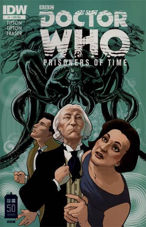 Doctor Who Prisoners Of Time #1 Cover B Incentive Simon Fraser Variant Cover