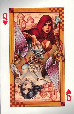 Damsels #5 Incentive Joseph Michael Linsner Virgin Cover
