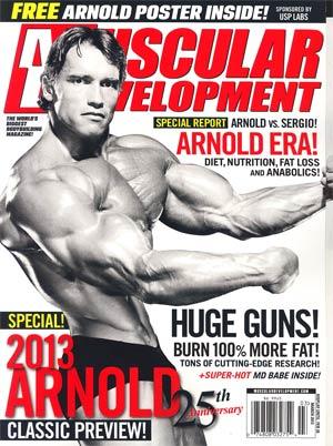 Muscular Development Magazine Vol 50 #3 Mar 2013