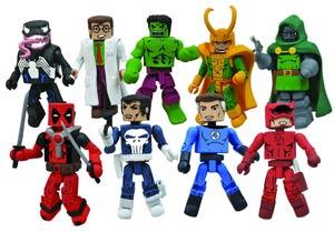 Best Of Marvel Minimates Series 2 Mr Fantastic & Dr Doom 2-Pack