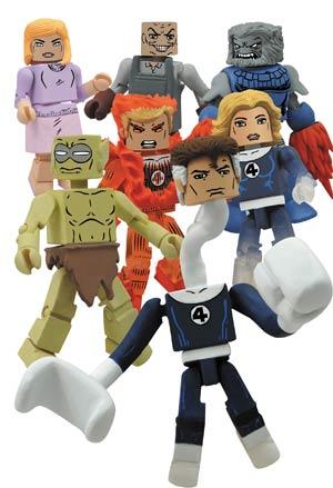 Marvel Minimates Series 48 Variant Alicia Masters & Moloid 2-Pack