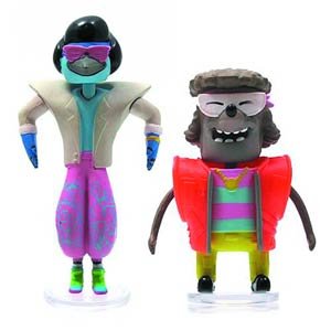 Regular Show 3-Inch 80s Bobble Head With Glasses Assortment Case
