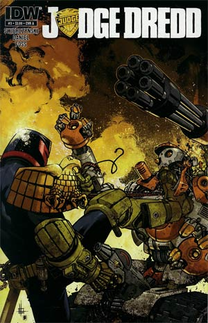 Judge Dredd Vol 4 #3 Regular Cover A Zach Howard