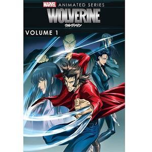 Marvel Wolverine Animated Series Vol 1 DVD
