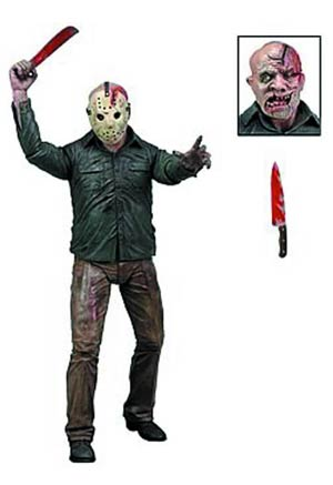 Friday The 13th Series 2 Battle Damaged Jason Voorhees 7-Inch Action Figure